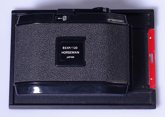 Dos roll film 120 horseman 6x9 pour chambre 4x5 toyo sinar for Chambre 4x5 occasion