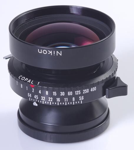 Objectif nikon nikkor w 5 6 210mm pour chambre 4x5 for Chambre 4x5 folding